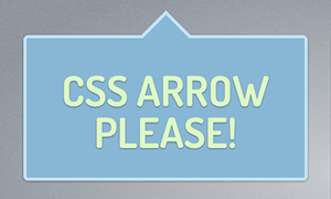 CSS Arrow Please