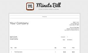 Minute Bill