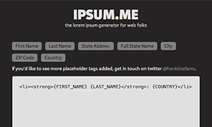 Ipsum.me